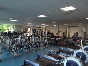 Falmouth University's gym