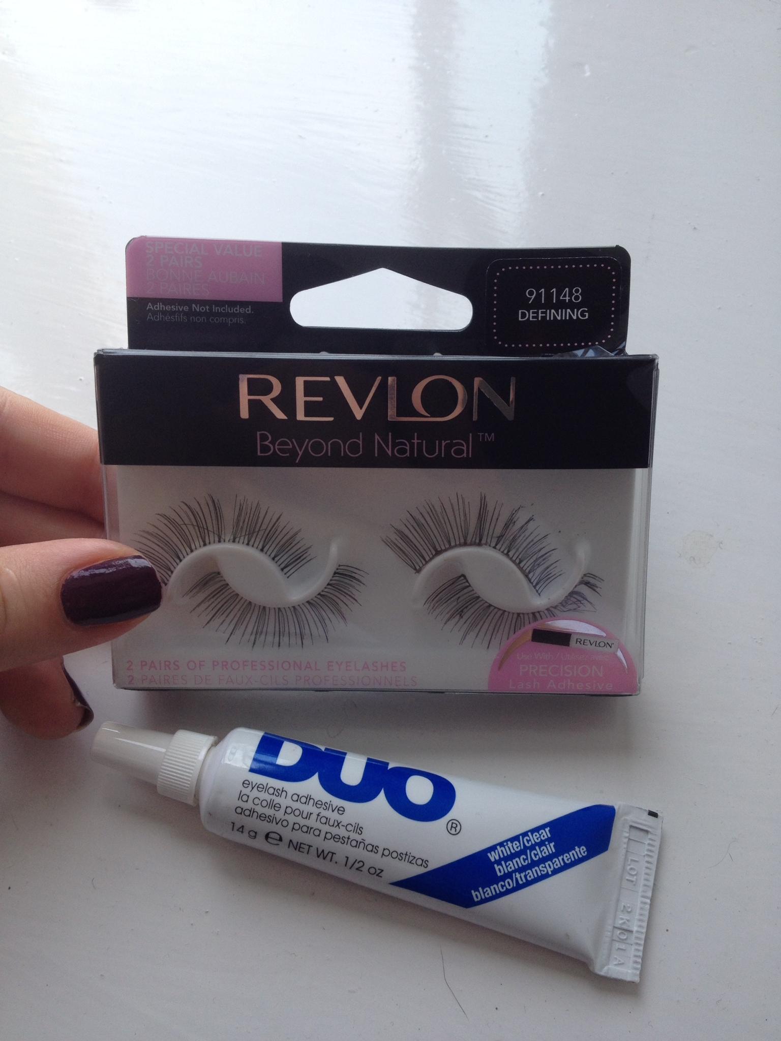 Revlon Beyond Naturals Defining False Lashes Review The Cornish Girl