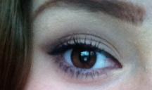 Without false lashes